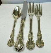 Old Master By Towle Sterling Silver Flatware Set Of 4 Nm 185 Gm