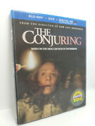 The Conjuring + Red Riding Hood Blu-ray + Dvd + Oop Lenticular Slip Covers