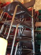 24 Vtg Heywood Wakefield Hey Woodite Adult Size Chairs - Colors - Very Good