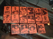 1971 Pictures Of Champions Baltimore Orioles World Series Baseball Card Set 16