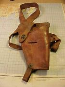 Wwii Us 1944 Shoulder Holster Named 376th Bomb Gp B-24 Crewman Wisconsin