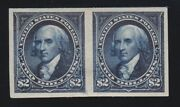 Us 277p5 2 Madison Proof Pair On Stamp Paper Scv 3250