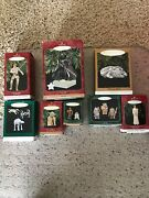 Vintage Star Wars Hallmark Ornament Set Of 8 New In Boxes