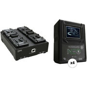 Core Swx Hypercore Neo 9 Mini 4-battery Kit With Fleet Q 4-position Charger V-m