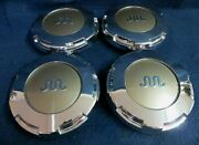Ford F150 Pickup King Ranch Edition 2006-2008 Chrome Center Caps - Set 4 - Oem