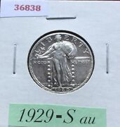 1929 S Standing Liberty Silver Quarter And 29-s Buffalo Nickel Too Free Ship