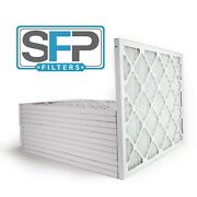 16x20x1 Merv 13 Pleated Ac Furnace Filters Case Of 12 Captures Airborne Viruses