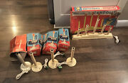 Noma Vintage 5 Light Candolier Christmas Candles Window Candelabra Single In Box