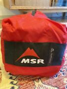 Rare Excellent Msr Outfitter Wing Discontinued Product Camp Tent Outdoor