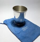 John F. Kennedy - Rare Presidential Sterling Mint Julep Cup - Scearce - No Mono