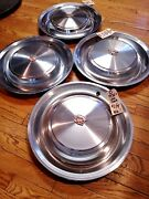 1963-92 1973 Cadillac Fleetwood Deville Factory Wheel Covers Superb Set Of 4