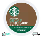 Starbucks Pike Place Decaf Keurig Coffee K-cups You Pick The Size