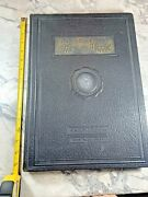 1936 Large Antique History Book The Chronicle Of Conquest Illustrated