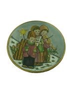 Vintage 1979 V Tiziano Christmas The Carolers Collectors Plate 7265 Of 7500