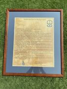 Rare Unique Articles And Laws In Playing Of Golf From 1744 Reprint1998-23x27