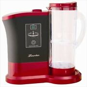 Lourdes High Concentration Hydrogen Water Generator Wine Red Color Polycarbonate