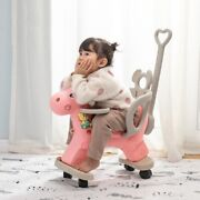 Children Rocking Chair Riding Horse Trolley Ride On Fun Toys Kids Christmas Gift
