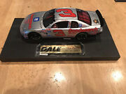 Dale Earnhardt Quick Silver Die Cast Limited Edition With Collector Card 124 Sc