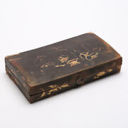 Antique Chinese Mother Of Pearl Gaming Counter With Box