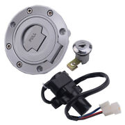 Motorcycle Ignition Switch Lock Gas Cap Key Set Fit For Yamaha Yzf R1 R6