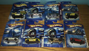 Rare Hot Wheel Corvette Lot Of 8 Collector Different Years/ Models Free Shipping