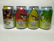 Angry Birds Soda Cans Empty