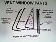 1953 1954 1955 Ford Pickup / Truck Vent Window Rubbers