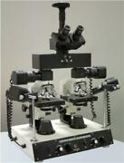Forensics Metallurgical Medical Microscope W Camera For Image Comparison