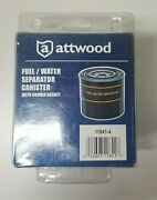 Attwood Marine Boat Fuel Water Separator Canister With Double Gasket 11841-4