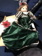 Precious Momwnts Christmas Stocking Doll 12th Edition Belle