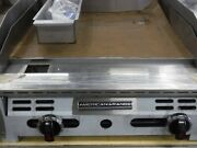 American Range 24 2-burner Thermostatic Lp Griddle Heavy Duty 1 Thick Plate