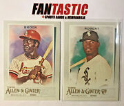 2020 Topps Allen And Ginter You Pick Base 251-300 And Short Print Sp 301-350