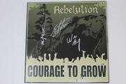 Rebelution Band X3 Signed Autograph Album Vinyl Record - Courage To Grow