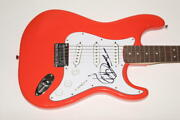 Jimmy Cliff Signed Autograph Fender Brand Electric Guitar - Cool Runnings Rare
