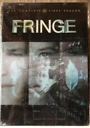 Fringe The Complete Series Dvd Set Seasons 1-5 With 90 Min Bonus Features New