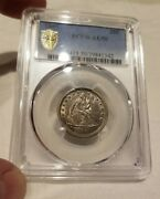 1849 25c Seated Liberty Quarter Awesome Undergrade Grand Appeal Absolutely Rare