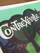 Contrexandeacuteville Water - Original Vintage Bus Format French Advertising Poster