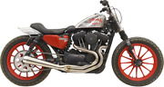 Bassani Road Rage Iii High-output 2-into-1 System Aluminum Brushed 1x62ss