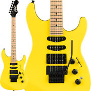 New Fender Made In Japan Limited Edition Hm Strat Frozen Yellow Hss W/gb