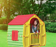 Playhouse For Kids Outdoor Indoor Plastic Toy Portable Castle Girl Boy House