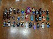 Lot Of 33 Lego Minifigures Dc Pirates Of Carribean Toy Story Lego Movie More