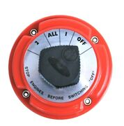 4 Position Dual Battery Selector Switch For Marine Boat Rv Vehicles Battery