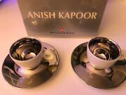 Anish Kapoor Illy Logo Espresso Cups Rare Limited Edition 2011