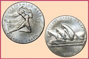 1973 Sydney Opera House Opening Silver Medal