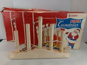 Safe T Glo 5 Light Candolier Vintage Holiday Electric Candles Lot Of 3