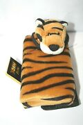 Vintage-cell Phone Carrying Case-new/tags-no Box-wild Nici Brand-tiger Theme