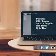 Unlimited American Or Europe / Keyword Targeted Or Social And Organic Web Traffic