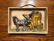 Rare Hummel 140 The Mail Is Here 1935-1949 Tmk1 Wall Plaque