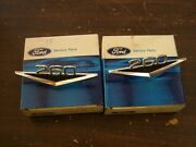 Nos 1964 1965 Ford Fairlane + Falcon 260 Fender Emblems 1964.5 Mustang