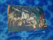 The Who Poster,tommy,pinball Wizard,1975,elton John, Roger Daltry, Pete Townsend